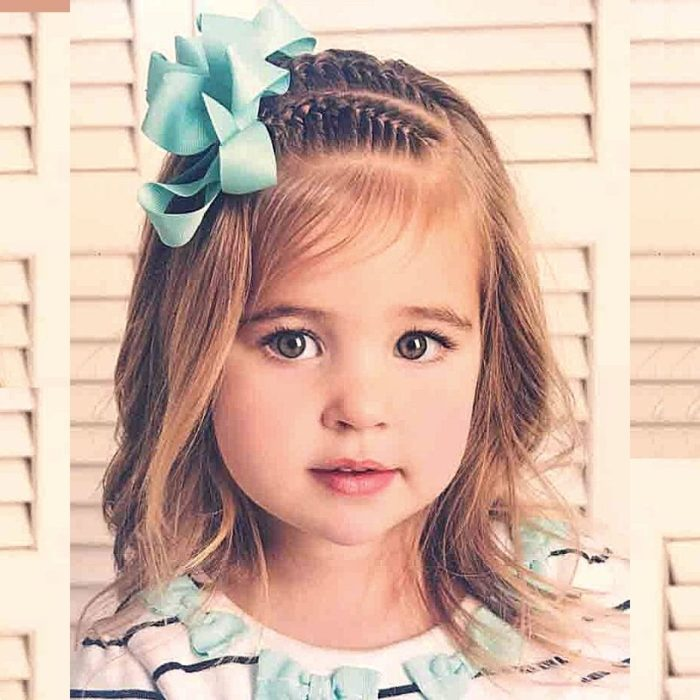 50 Easy Hairstyles For Cute Little Girls With Steps Fashion Goalz